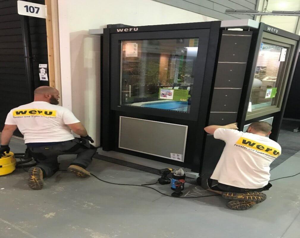 Exhibition Stand Installer Jobs : Self build renovation centre show exhibition
